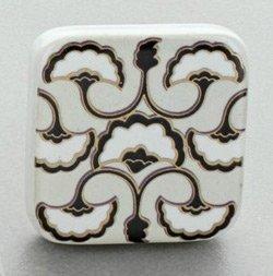 Motif-ceramic-knob